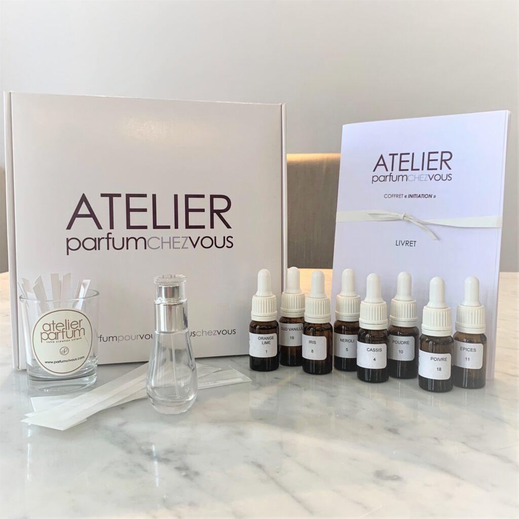coffret création parfum